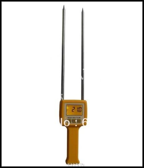 4 Digital LCD Grain Moisture Meter Tester Corn Beans Rice Range 5-35% victor 2gc vc2gc lcd grain moisture meter tester
