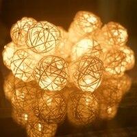 Ёлочные украшения (ротанговые шарики)