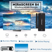 MiraScreen B4 Sans Fil HDMI Dongle 2.4 GHz Médias TV Bâton Soutien Miracast Airplay DLNA Android 4.2 Mac X 10.9, iOS 7.0,