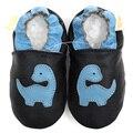 Кожа детская обувь девушки мальчик мокасины животных мягкой подошвой детская обувь малыш младенческой обуви мальчик тапочки обувь
