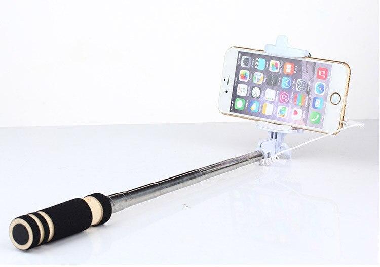 Sıcak Taşınabilir Mini Katlanır Cep Telefonu Kablolu öz - Kamera ve Fotoğraf - Fotoğraf 5
