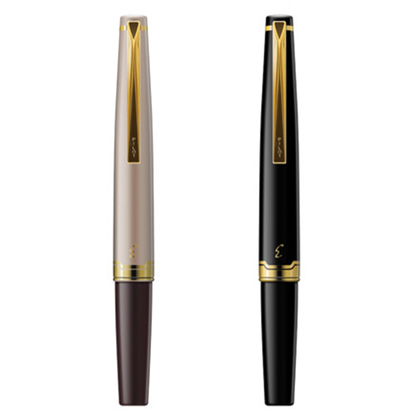все цены на Pilot Elite 95s 14k Gold Pen EF/F/M nib Limited Version Pocket Fountain Pen Champagne Gold/Black Perfect Gift 2018 онлайн