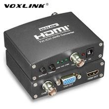 VOXLINK AHD/TVI/CVI CCTV Camera Analog Signal To HDMI/VGA/CVBS Converter 720P/1080P Full HD Video Converter