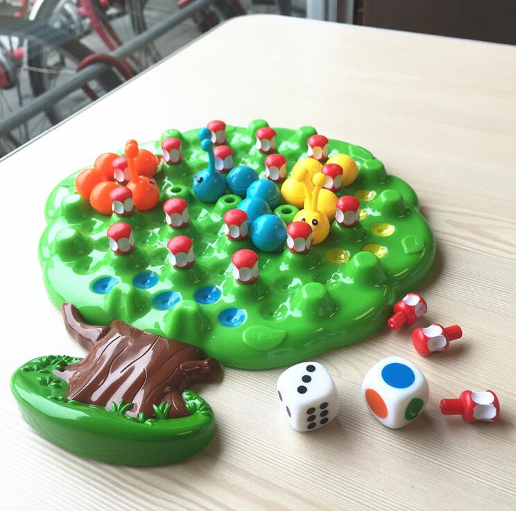 Insects eat apples competition toys fun table games parent - child interactive games children 's educational toys hot sell desktop manual indoor football machine parent child sports interactive toys table ball game machine
