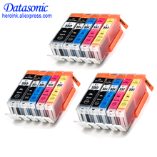 цена на 15 XL Ink Cartridges For PGI550 CLI551 Canon Pixma iP7250 MG5450 MG6350 MX925 IP7159 MG5550 IX6850 MG6450 MG6650