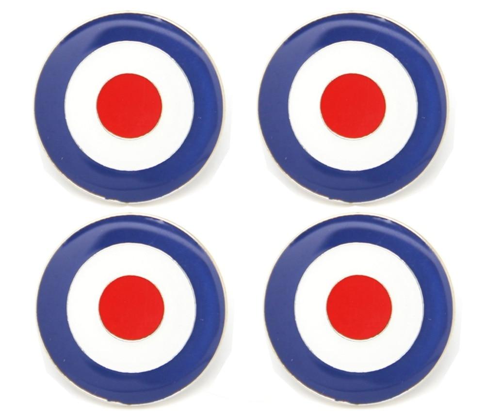 Lambretta Square Pattern Black And White Oval Enamel Pin Badge