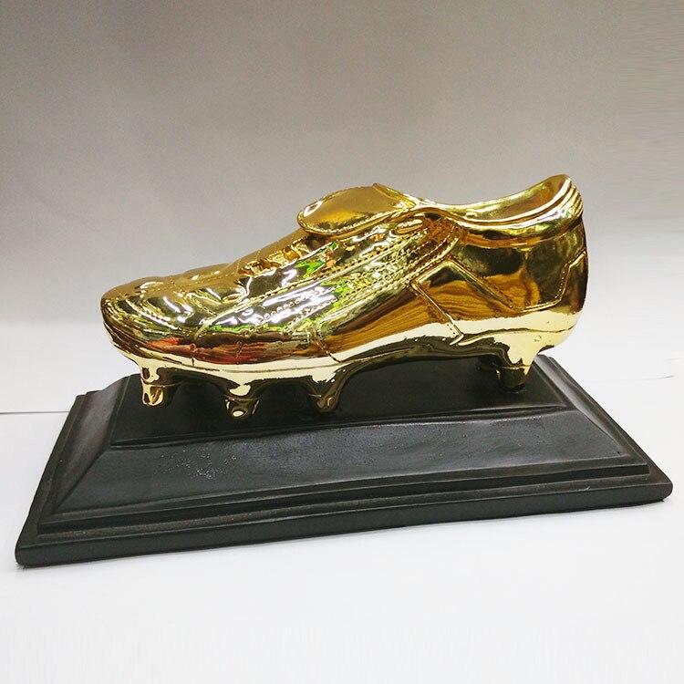 Football bottes d'or prix trophée réplique Fans Souvenir tasse en alliage de Zinc