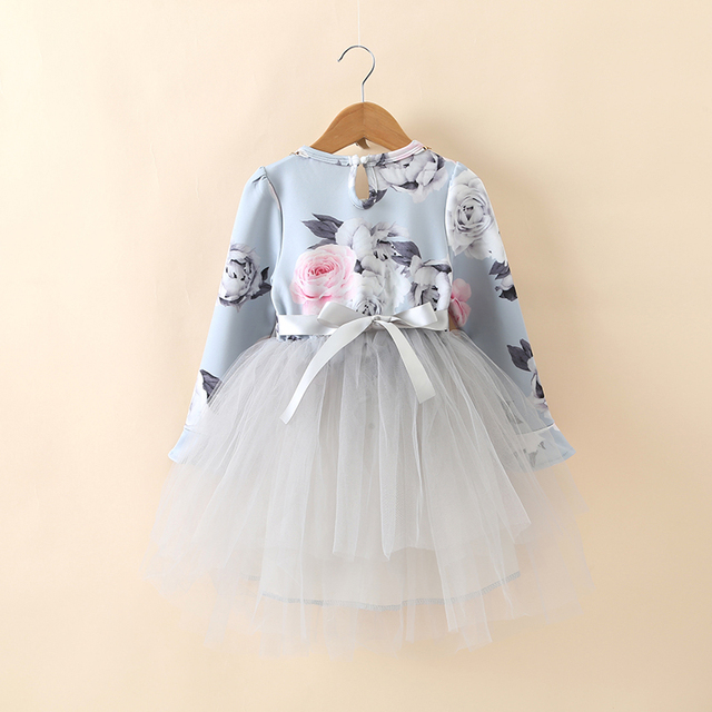 6408931ed Little Baby Girl Winter Dress Children s Girls Dresses 8 Years ...