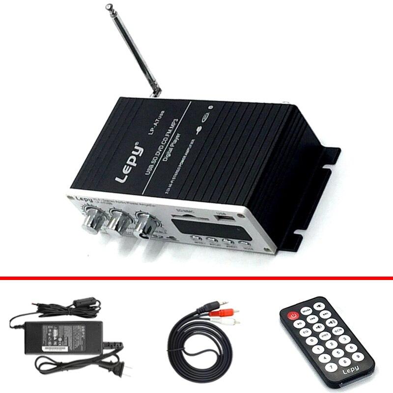 Lepy lp-a7usb amplificadores de potencia con adaptador de corriente y cable de a