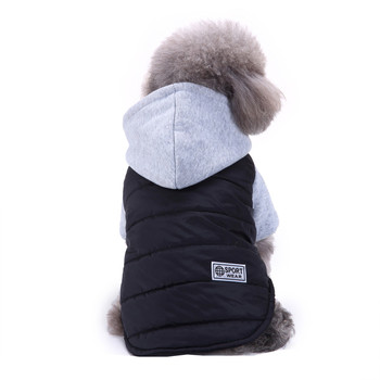Cotton Overalls Puppy Coat