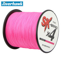 Riverhawk Brand TOP Quality Superpower 300m 12LB – 80LB Braided Fishing Line PE Strong Multifilament Fishing Line Carp Fishing