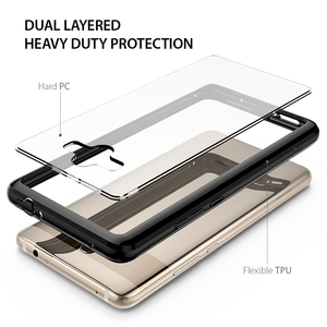 Image 4 - Ringke Fusion Voor Huawei Mate 10 Case Clear Pc Back Cover Soft Tpu Frame Hybrid