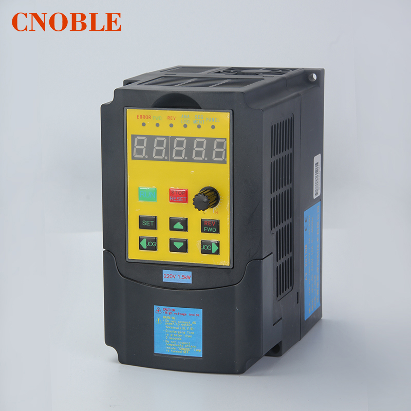 Russian manual 220V 1.5KW Single Phase input and 220V 3 Phase Output Frequency Converter Inverter / VFD/ Adjustable Speed Drive vsd frequency inverter ac drive vfd 220v 2 2kw single phase input and 220v 3 phase output