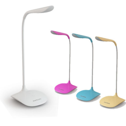 Touch Sensor Led Table Lamp Bedroom Bedside Lamp Rechargeable