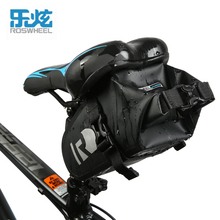ROSWHEEL Bicycle Cycling Bags Panniers Full Waterproof PVC Rear Tail Saddle Bags for MTB Road Bike