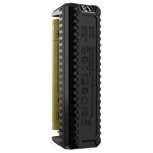 Image 5 - Originale NITECORE F1 Caricabatteria 5 v 1A Micro USB di Smart Accumulatori e caricabatterie di riserva Per IMR BATTERIA AGLI IONI di Li Ion 26650 18650 10440 14500 batterie