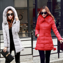 2016 Limited Version Of The New Female Students Winter Coat Thickening In Long Down Jacket Manufacturers Wholesale All Ladies