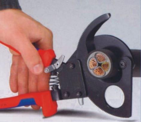 Taglierina per cavi a cricchetto di alta qualità LK-250 per il - Utensili manuali - Fotografia 5