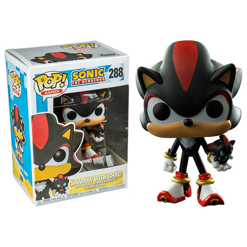 Funko Pop Games Sonic with Emerald Collectible Toy