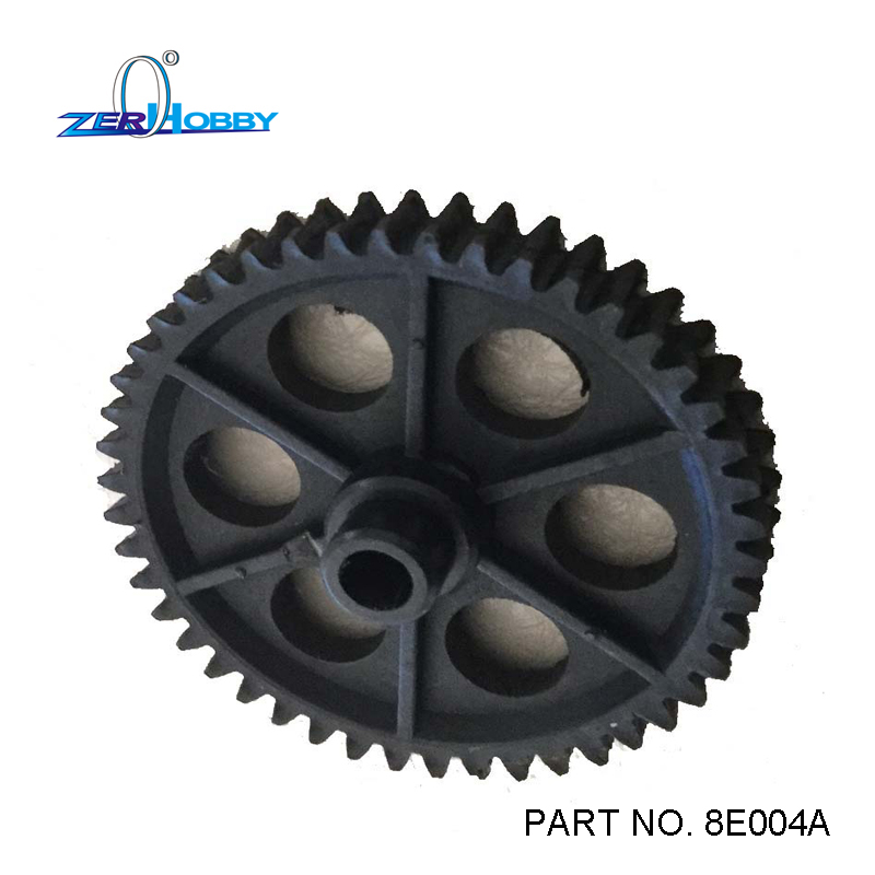 rc car spare parts accessories spur gear for 1/8 electric powered 4wd off road remote control buggy (part no. 8E004A)