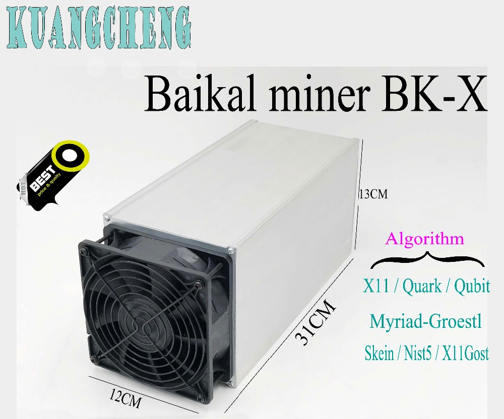 ASIC Miner Baikal Giant-X10 Giant X10 10GH/S Miner X11/Quark/Myriad-Groestl/Qubit/Skein Support 7 Algorithums Mining Machine