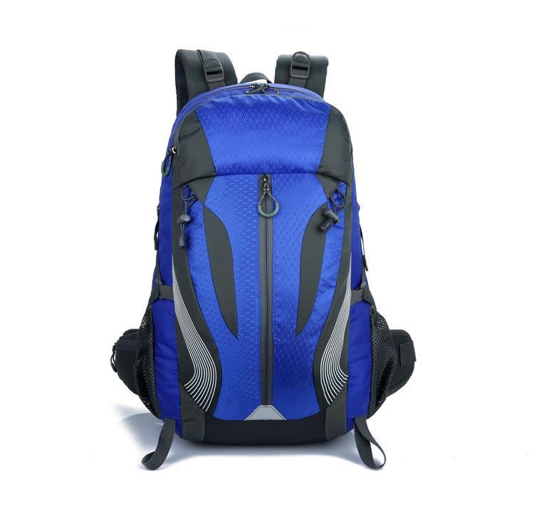 купить Outdoor travel bags hiking backpack camping bag sports climbing mountain Equipment 40L man woman backpack GYM trekking water bag по цене 5664.19 рублей