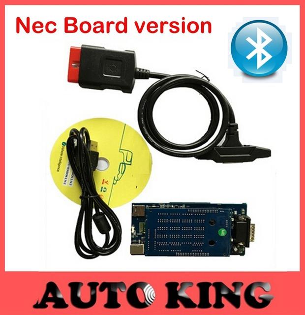Fábrica menor preço! NOVO VCI ds-cabos tcs cdp pro com bluetooth led para car & truck nec relé obd2 ferramenta de diagnóstico equipamentos