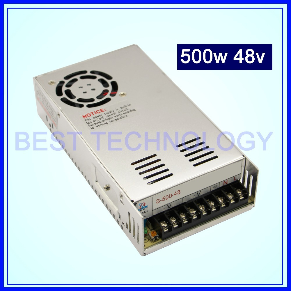 switching power supply 500W 48V DC Switch Power Supply Single Output!! For CNC Router Foaming Mill Cut Laser Engraver Plasma!!