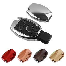 1pc TPU rubber key bag Key protective sleeve case holder housekeeper for Mercedes Benz W204 W205 C Class