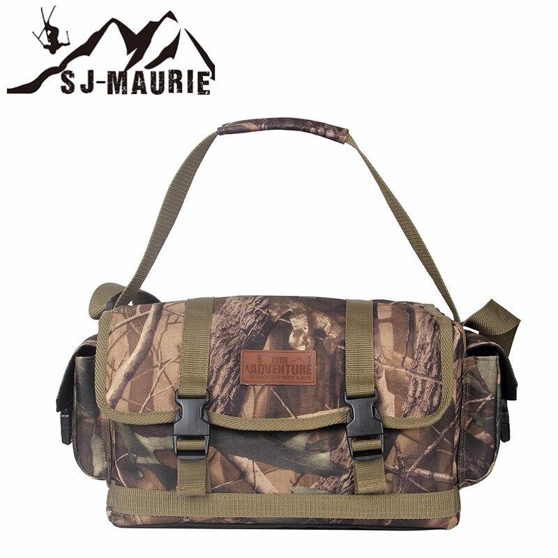 Sj-maurie extérieur hommes militaire tactique sac armée tactique sac à dos Molle Camouflage sac de chasse randonnée Camping Portable sac - 2