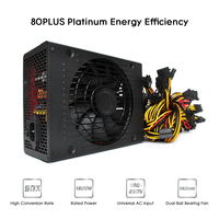 1800W Switching Power Supply 90 High Efficiency For Asic Antminer L3 Ethereum S9 S7 L3 Rig