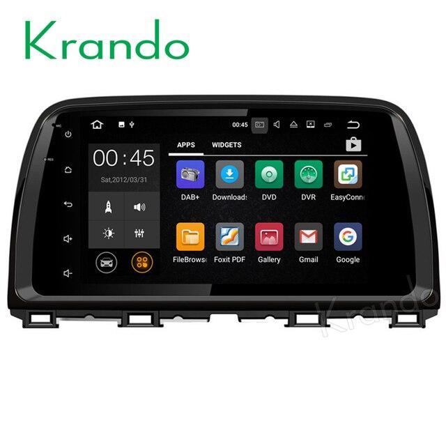 Mazda cx-5 android auto radio dvd gps digital tv 3g wifi.