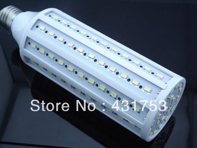 5630 E27 30W 132  LED  200-240V AC led bulb cool white warm white warranty 2 years -- free shipping