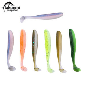 Silicone Bait Wobbler Jigging Fishing-Lure Easy-Shiner Soft Tackle for 1pcs/Lot 60mm