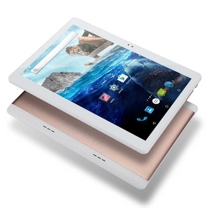 Nieuwe Google DHL Gratis 10 inch Android 8.0 Octa Core Tabletten PC 4GB RAM 64GB ROM 8 Core 4G LTE 1280*800 IPS Wifi GPS G-Senor + Geschenken