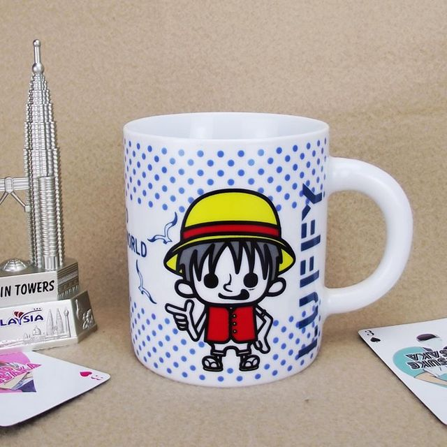 One Piece Ceramic Coffee Tea Mug