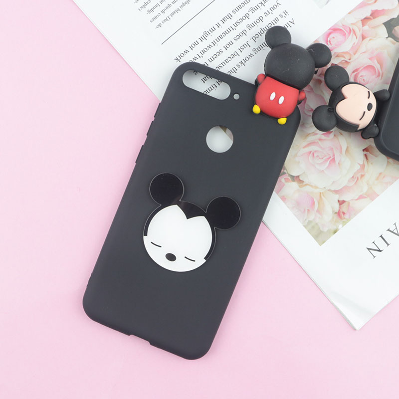 Cute Cartoon Mickey Minnie Case For Google Pixel 2 Pixel2 XL Cases Soft Duck Tiger Bear Daisy Phone Cover