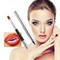 1 pcs pincel de Lábios Profissional Pincel de Maquiagem Cosméticos Lábios Escovar Escova Com Tampa de Alta Qualidade Beleza Ferramentas de Maquiagem Atacado