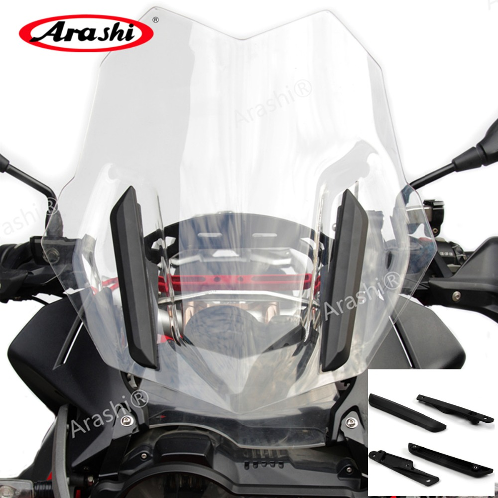 Arashi For BMW R1200GS Adv 2014 2018 CNC Machined Reinforcement Support Windshield Holder R 1200 GS