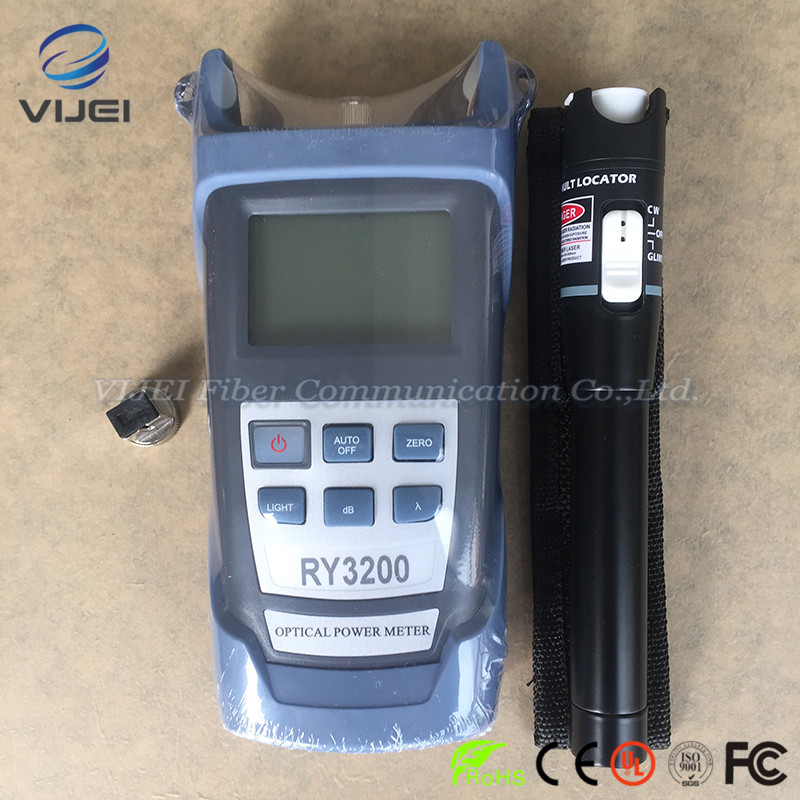 2 In 1 FTTH Tool Kit 20KM Visual Fault Locator and SC/FC RY3200B OPM RY3200B Optical Power Meter -50~+26dBm2 In 1 FTTH Tool Kit 20KM Visual Fault Locator and SC/FC RY3200B OPM RY3200B Optical Power Meter -50~+26dBm