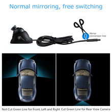 Universal HD Car Rear View Camera Car Mirror Camera Night Vision Infrared Auto Reverse Cameras Vehicle Parking Cameras