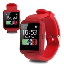 Smartwatch Bluetooth Smart Uhr U8 Armbanduhr digitale sportuhren für IOS Android phone Wearable Elektronische Gerät Geschenkbox