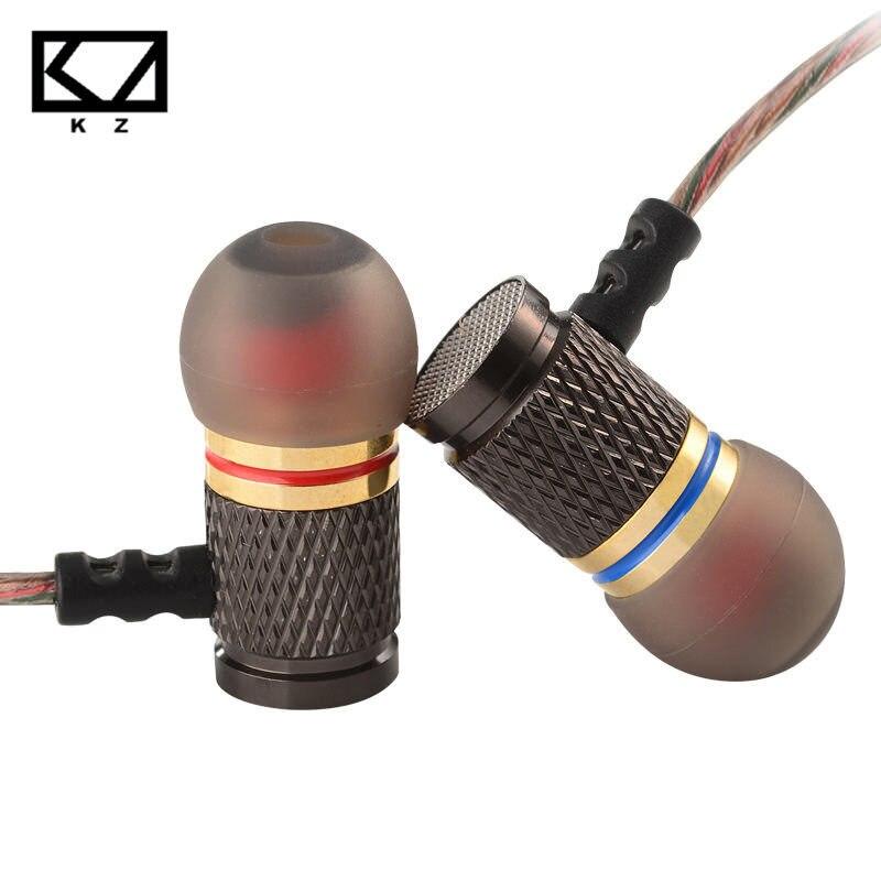 KZ ED2 auricular con micrófono Auriculares auriculares para PC auriculares KZ mismo KZ zst cable PK para qkz DM6 urbanfun
