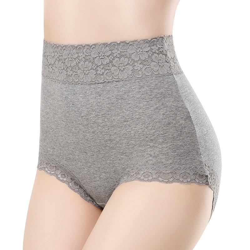 Top Quality Sexy Panties Women's Underwear High Rise Cotton Briefs Calcinha Lingerie Girls Panty Plus Size Lace Shorts Underpant
