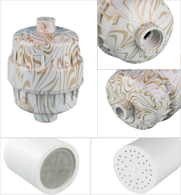 Для ванной душ головка фильтра/без хлора фильтр для душа/оба фильтра с углерода и сульфит кальция в сочетании для удаления химических веществ