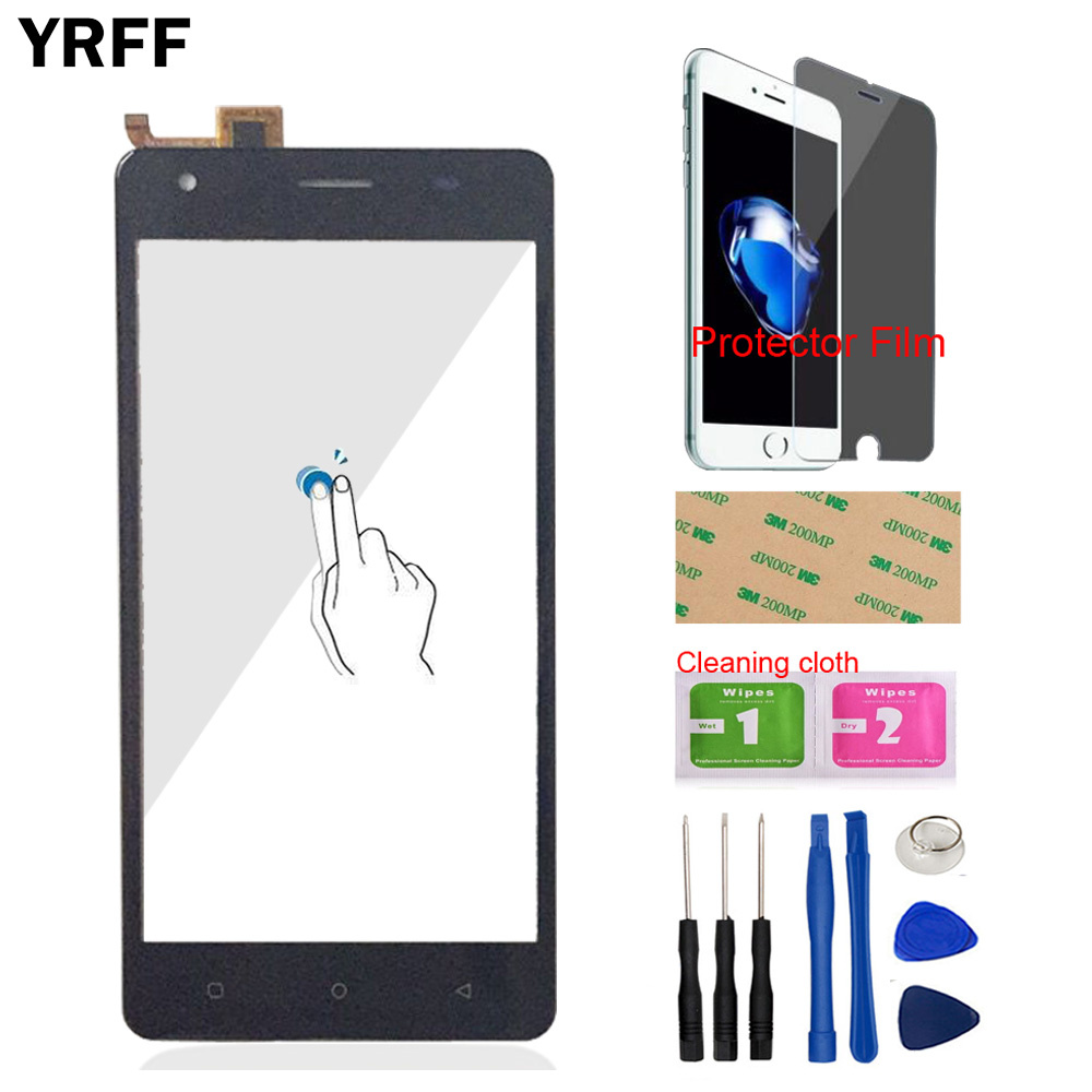 Mobile TouchScreen Touch Screen For Oukitel C5 / C5 Pro Touch Screen Touch Digitizer Panel Glass Sensor Tools Protector Film