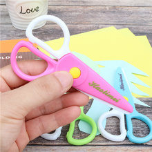Safety Scissors Photo Child Plastic Student Prevent Hand-Injury DIY