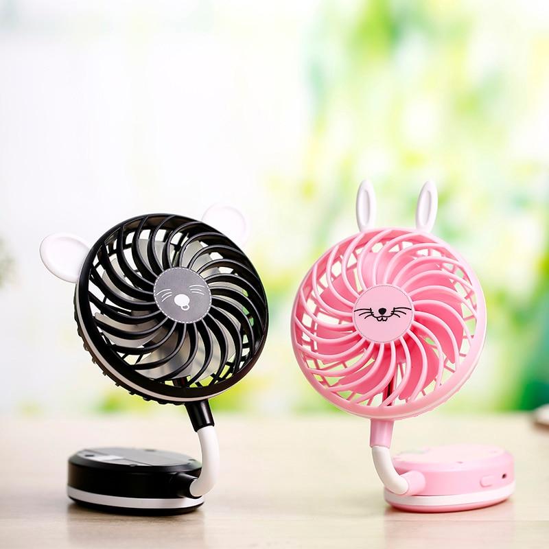 Miniatuur draagbare handheld spiegel ultrastille ventilator - Huishoudapparaten - Foto 6