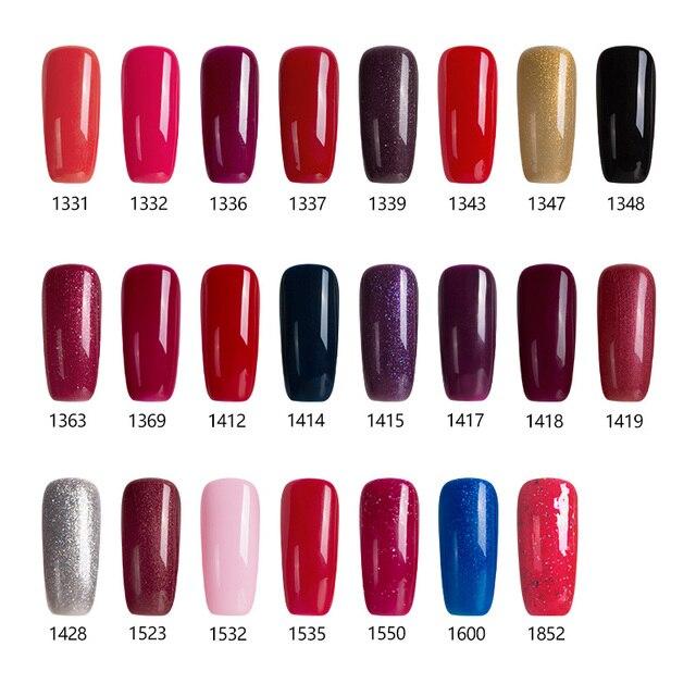 Modelones Winter Season Series Color Gel Polish Hot 23pcs Lot Uv Nail