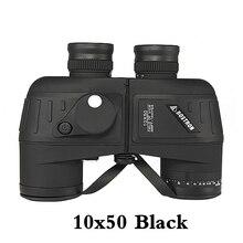 Мощный бинокль 7X50/10x50 hd Профессиональный Военный бинокль с цифровым компасом телескоп ночного видения окуляр фокус